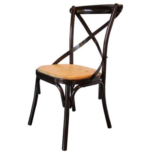 chaise-en-metal-bois