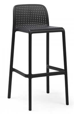 Tabouret Lido anthracite