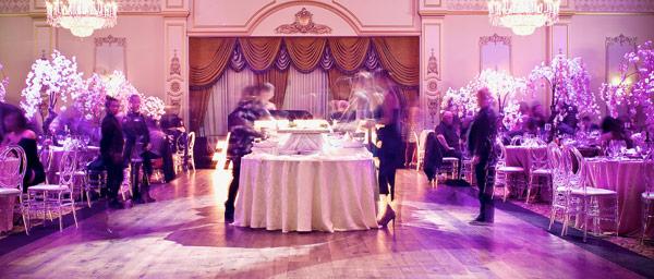 promotion mobilier banquet restaurant intérieur