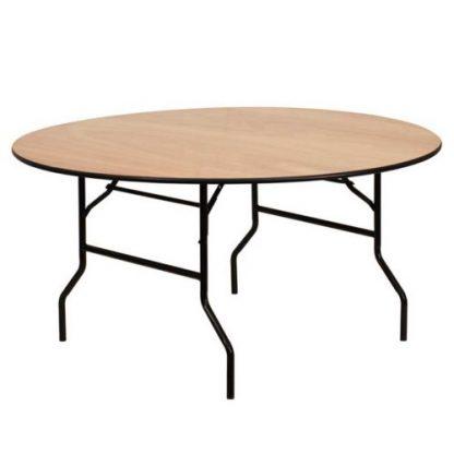 Table de banquet ronde - District W - St-Hyacinthe