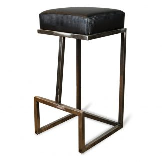 Tabouret D66403 - Rembourré - Métal - District W - St-Hyacinthe