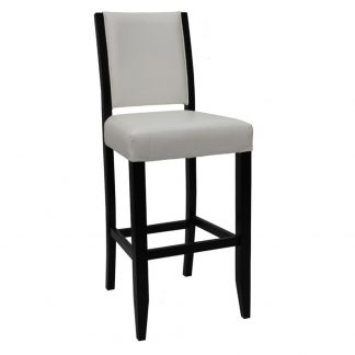 Tabouret D44301 - Rembourré - Bois - District W - St-Hyacinthe