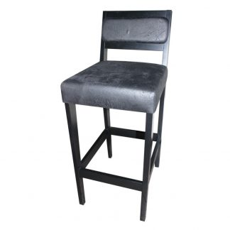 Tabouret D521 - Rembourré - Bois - District W - St-Hyacinthe