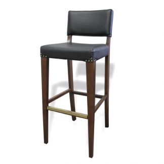 Tabouret D59501 - Rembourré - Bois - District W - St-Hyacinthe