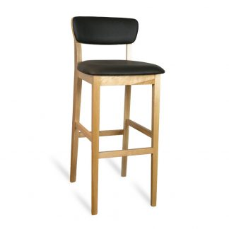 Tabouret D62003 - Rembourré - Bois - District W - St-Hyacinthe