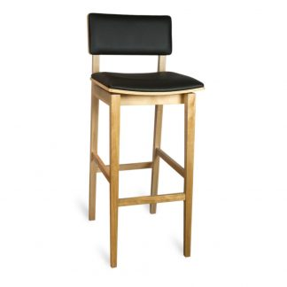 Tabouret D66303 - Rembourré - Bois - District W - St-Hyacinthe