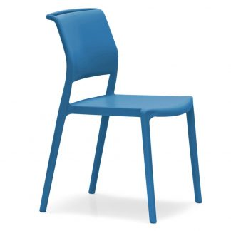Chaise ARA-310 - Polypropylène - bleu - District W - St-Hyacinthe