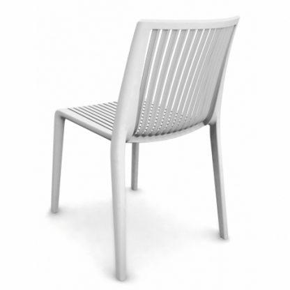 Chaise COOL - polypropylène - blanc - District W - St-Hyacinthe