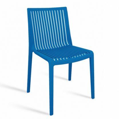 Chaise COOL - polypropylène - bleu - District W - St-Hyacinthe