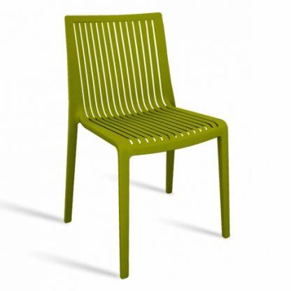 Chaise COOL - polypropylène - vert - District W - St-Hyacinthe