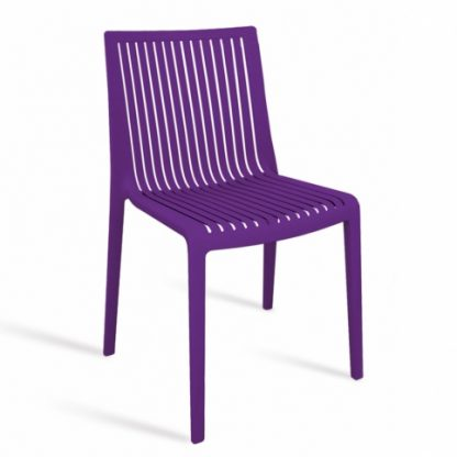 Chaise COOL - polypropylène - violet - District W - St-Hyacinthe