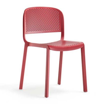 Chaise Dome-261 - Polypropylène - rouge - District W - St-Hyacinthe