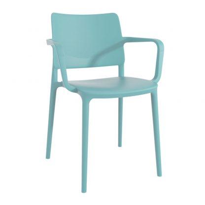 Chaise JOY-K - polypropylène - turquoise - District W - St-Hyacinthe