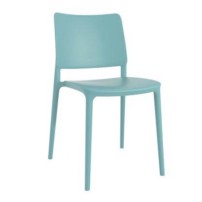 Chaise JOY-S - polypropylène - turquoise - District W - St-Hyacinthe