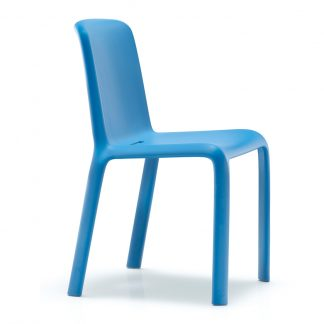 Chaise Snow-300 - polypropylène - bleu - District W - St-Hyacinthe
