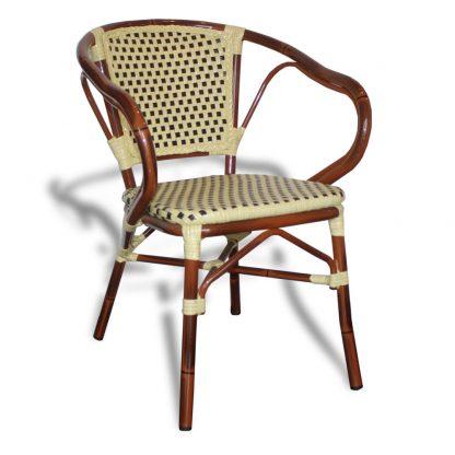 Chaise JO0535 - mobilier-extérieur - aluminium - tressage - District W - St-Hyacinthe
