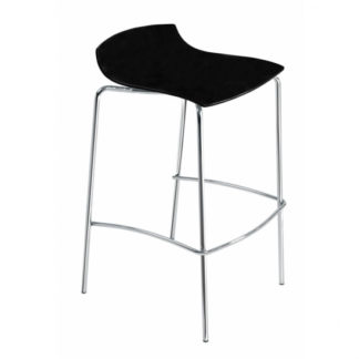 Tabouret X-TREME-BSS - noir brillant - Polypropylène - District W - St-Hyacinthe