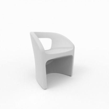 Bistro Chaise - blanc neige - bi-100-13