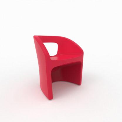 Bistro Chaise - rouge - bi-100-36