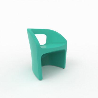 Bistro Chaise - turquoise - bi-100-28