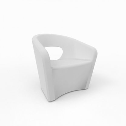 Bistro Fauteuil - blanc neige - bi-300-13