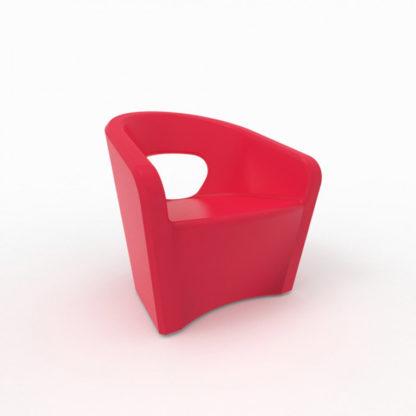 Bistro Fauteuil - rouge - bi-300-36