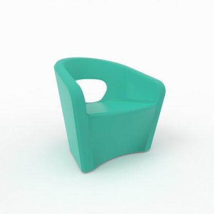 Bistro Fauteuil - turquoise - bi-300-28
