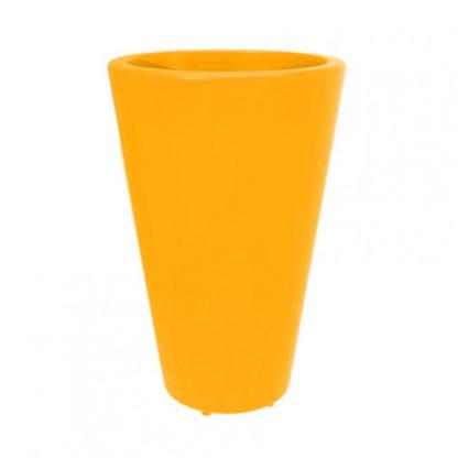 Folia - Pot à fleur - jaune - fo-050-66