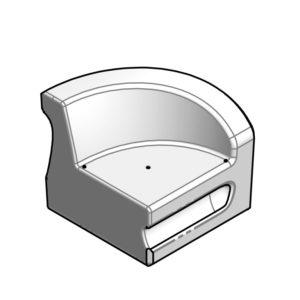 CURVA - module C - bras gauche - SE.200 - dessin