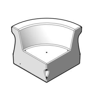 CURVA - module D - coin - SE.300 - dessin