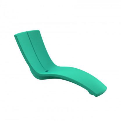 KURVE - chaise longue - CU.000.28 - turquoise