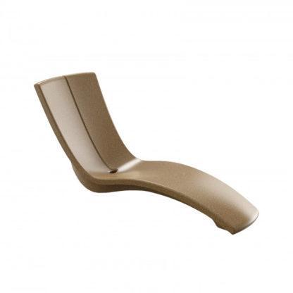 KURVE - chaise longue - CU.000.50 - sable