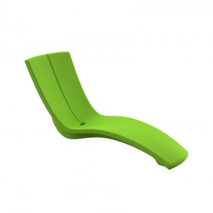 KURVE - chaise longue - CU.000.72 - vert pomme
