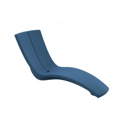 KURVE - chaise longue - CU.000.82 - bleu océan