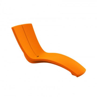 KURVE - chaise longue - CU.000.85 - orange