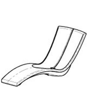 KURVE - chaise standard - dessin