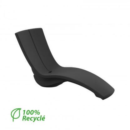 RISER - rehausseur pour chaise KURVE - RI.000.42 - noir