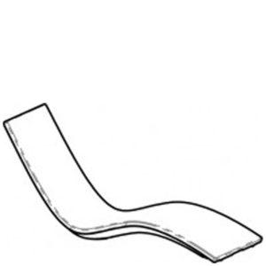 SOLIS - chaise longue basse - dessin