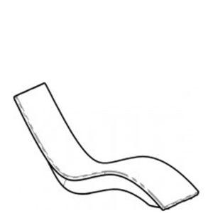SOLIS - chaise longue haute - dessin