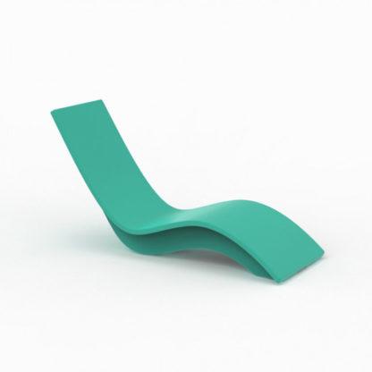 SOLIS - chaise longue haute - SO.100.28 - turquoise