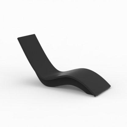 SOLIS - chaise longue haute - SO.100.42 - noir