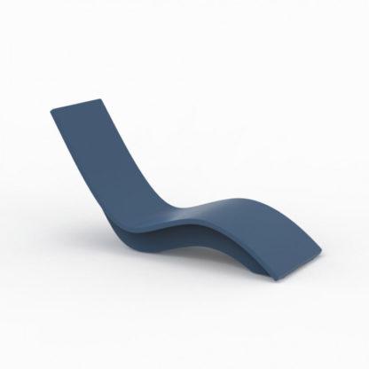 SOLIS - chaise longue haute - SO.100.82 - bleu océan