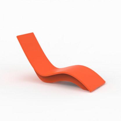 SOLIS - chaise longue haute - SO.100.85 - orange